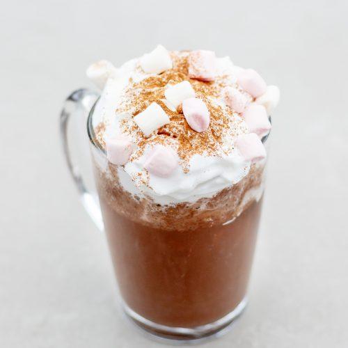 vegan warme chocolademelk